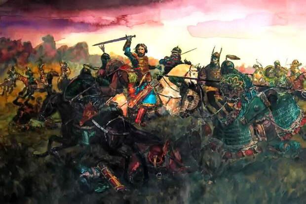 Прорыв Мстислава Удатного (Иллюстрация из открытых источников)