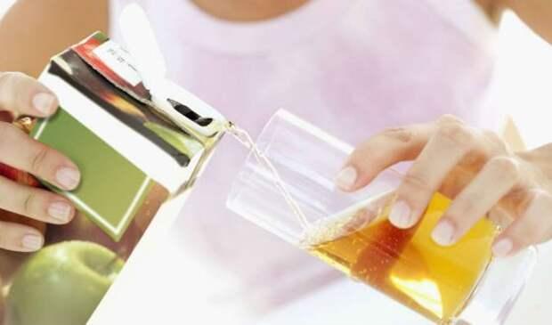 В 10% случаев в соке отмечается повышенное содержание мышьяка