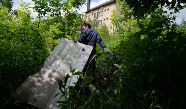 Оренбуржцев просят не выбрасывать стройматериалы на контейнерных площадках