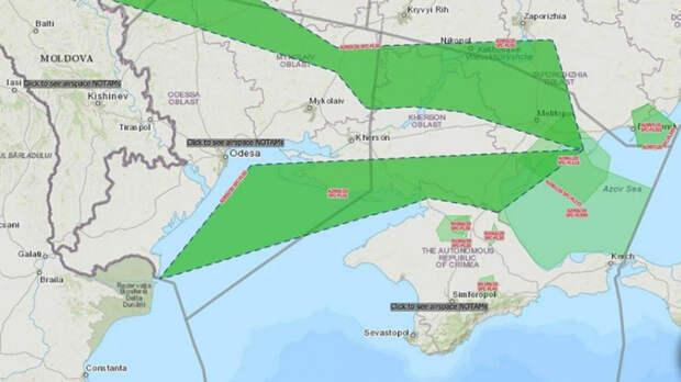 США и Украина частично осадили Крымский полуостров