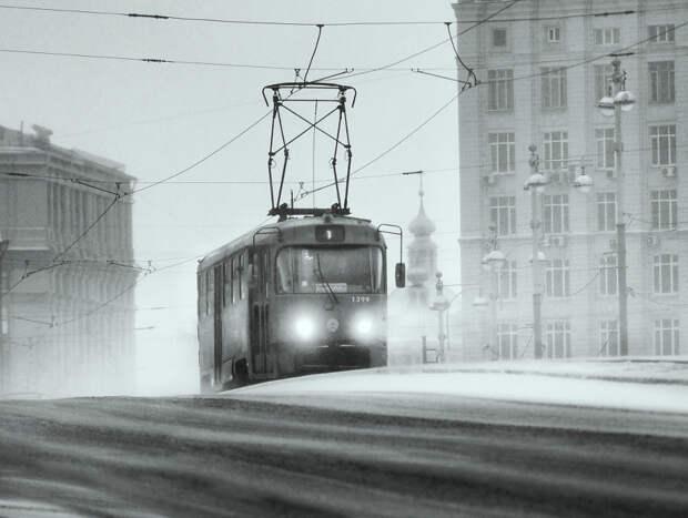 Winter street by Maksim  on 500px.com