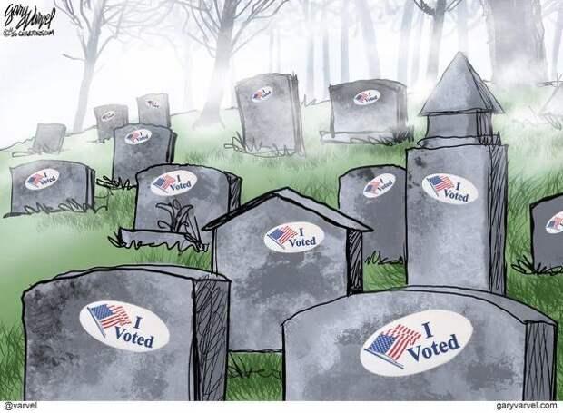 Очень честные выборы в США