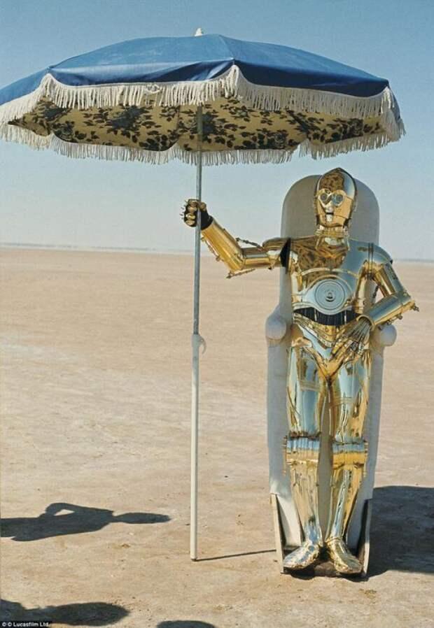 Закулисные фотографии «Звёздных войн»
