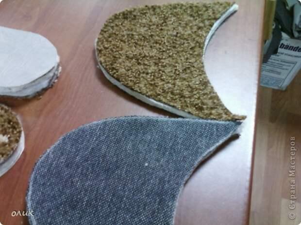 Мастер-класс Шитьё Домашние тапочки для себя и для гостей Кожа Мех Ткань фото 6