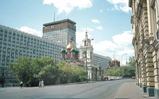 6 исторических фото Москвы сразу после распада СССР