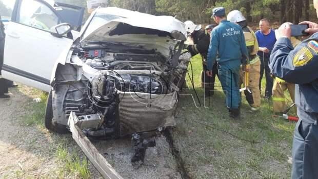 Страшное ДТП под Курганом унесло жизни пяти человек