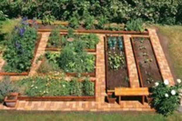 10 вариантов обустройства огорода