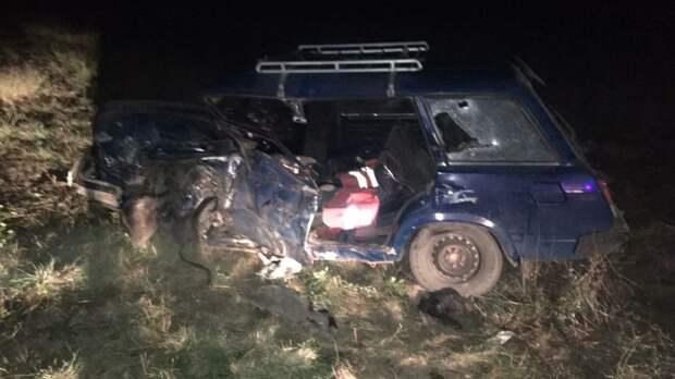 В Крыму произошло лобовое ДТП, есть пострадавшие