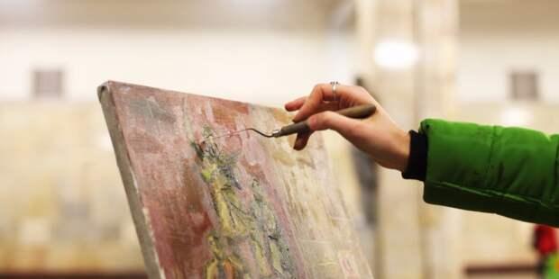 Галерея «Выхино» запустила курсы по интуитивному рисованию
