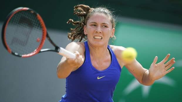 Александрова не смогла пробиться в полуфинал турнира в Страсбурге