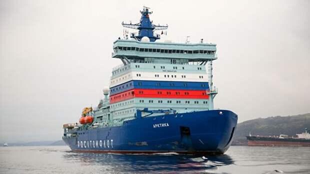 Россия обладает самым мощным атомным ледокольным флотом, заявил Путин