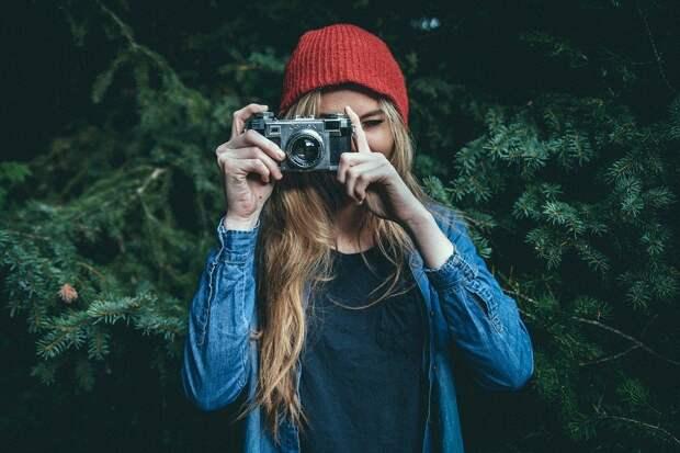 Фотограф, Фото, Женщина, На Открытом Воздухе, Природа