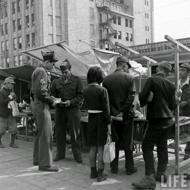 Черный рынок в Японии, 1946
