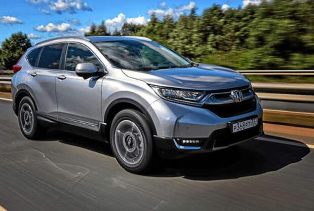 Новая Honda CR-V — первый российский тест
