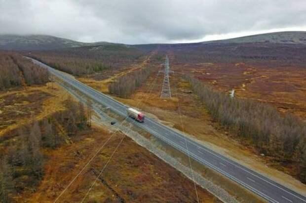 """На федеральной трассе """"Лена"""" заасфальтировали 11 км дороги"""