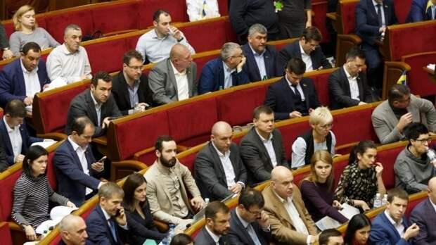 """Журналисты поймали депутатов Рады за """"непрофильными"""" занятиями"""