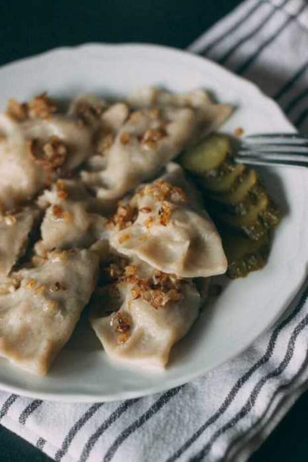 Очень вкусные вареники с гречкой. \ Фото: google.com.