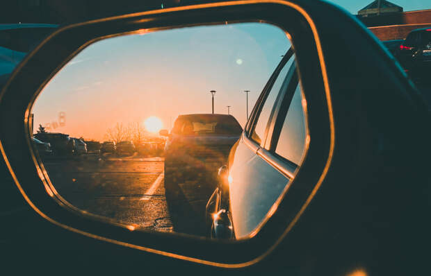 Sunset on my side mirror  by Prathap Raja on 500px.com