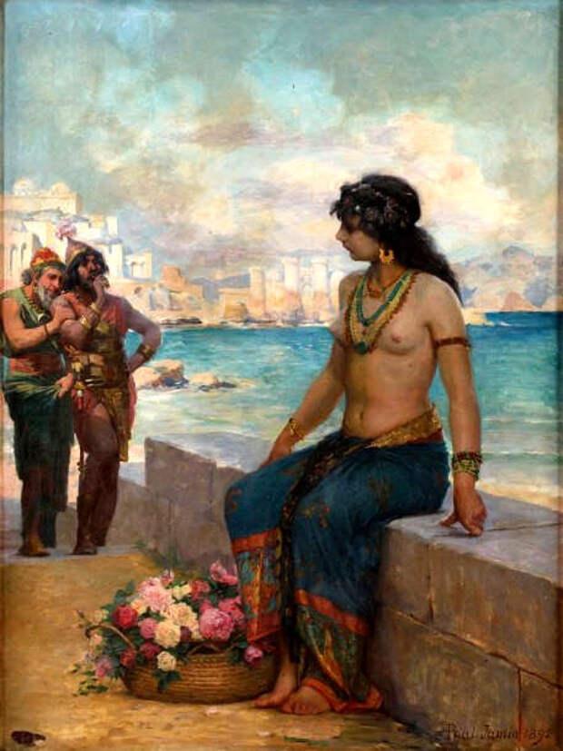 Обнаженная натура в изобразительном искусстве разных стран. Часть 164.
