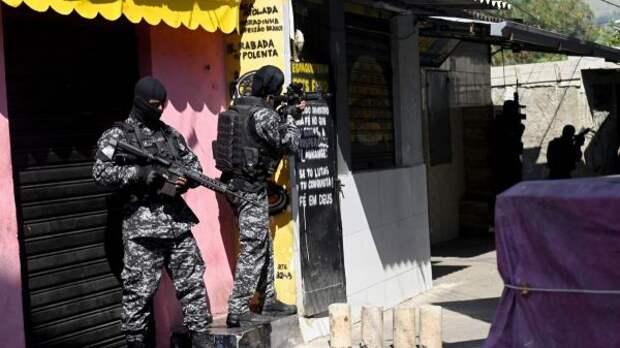 Бразильская полиция раскрыла детали операции, входе которой погибли 25 человек