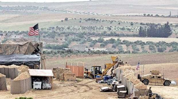 В Сирии боевиками полностью уничтожена часть военной базы США