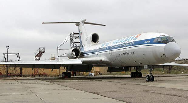 Московский бизнесмен купил Ту-154, «застрявший» в Новокузнецке