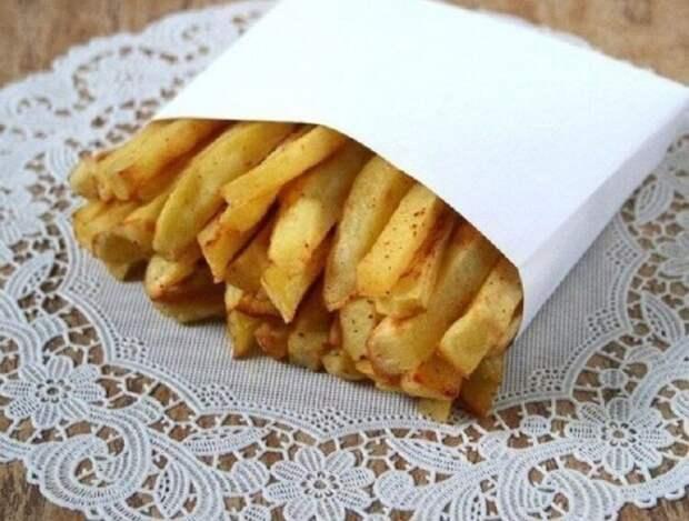 Готовим картофель фри без капли масла и жира
