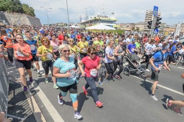 Россиянка Нина Зарина выиграла самый массовый забег в истории