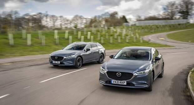 Компания Mazda выпустит особую серию седанов и универсалов Mazda 6 Kuro Edition