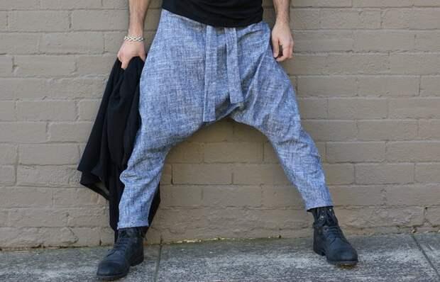 Слишком отвисшие брюки вне закона.