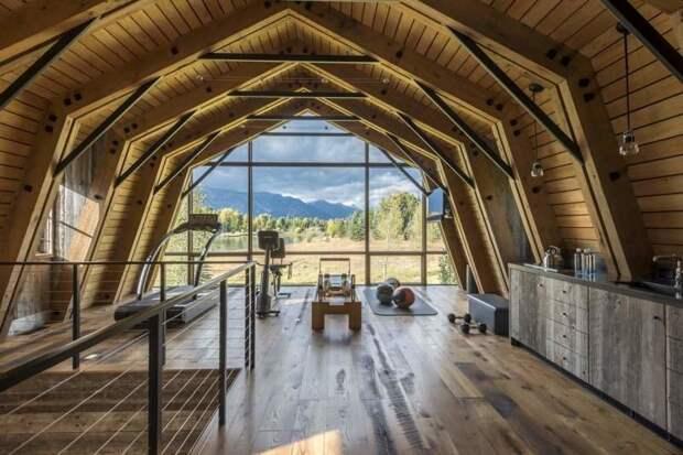 Этот сарай и снаружи выглядит неплохо, а внутри — так вообще загляденье! в мире, гостевой домик, дизайн, дом, креатив, сарай, стройка