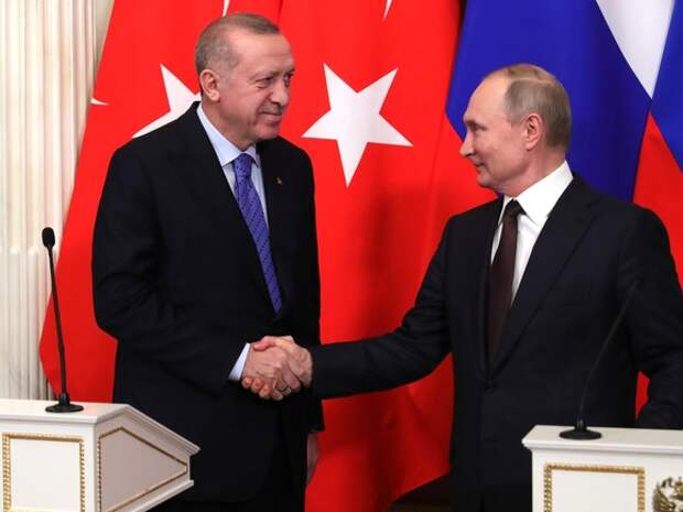 Эрдоган и Путин обсудили ситуацию в Израиле