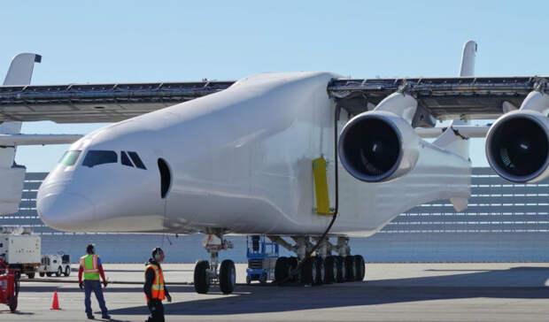 Как устроен самый большой самолет мира