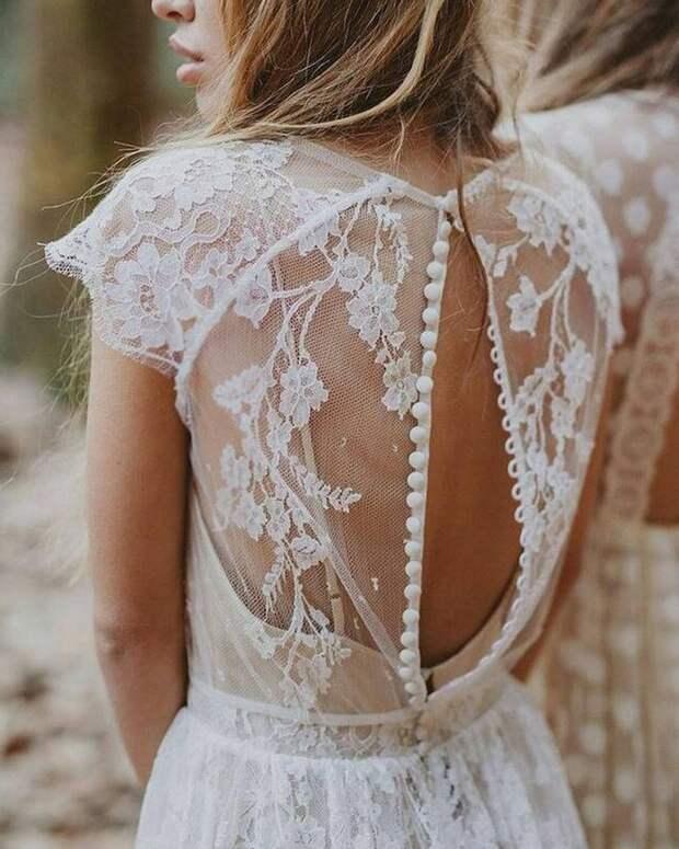 Идеи изумительных спинок для платьев 6