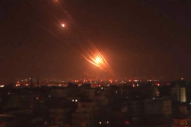 ХАМАС заявил о запуске 130 ракет в сторону израильских городов
