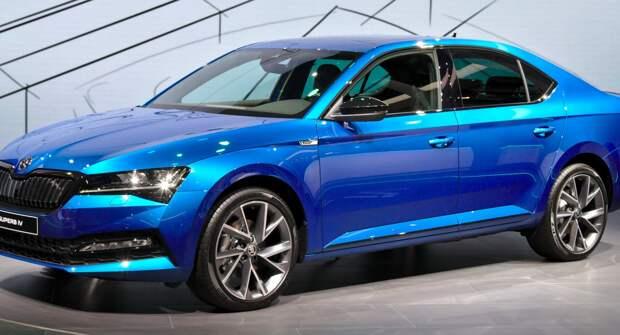 На премиальную модель Škoda Superb в мае будет действовать специальное предложение