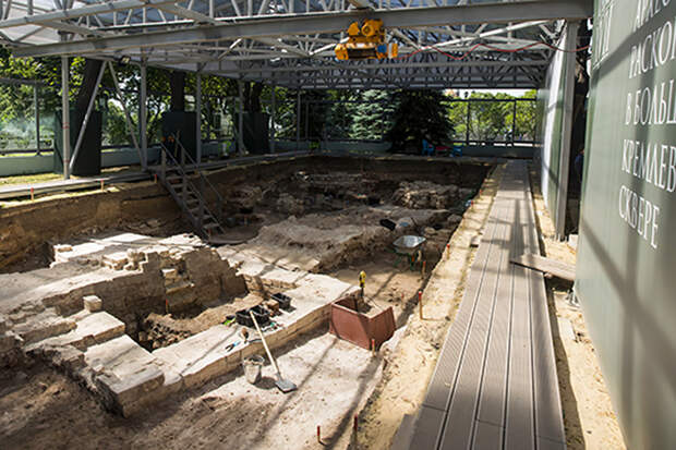 Археологи нашли в Кремле следы «политической элиты» XIV–XV веков