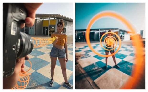 Лайфхаки для удивительных 3D фотографий от Джорджи Пуча