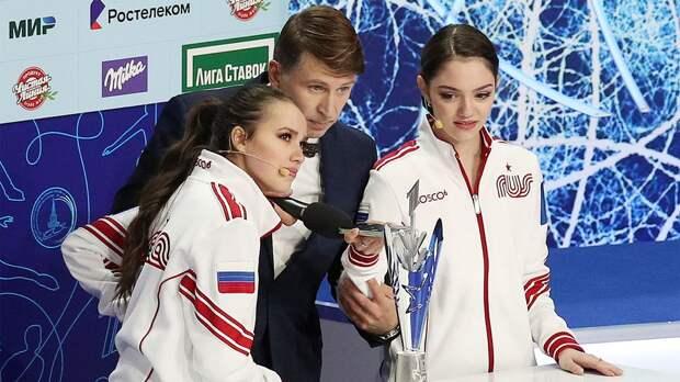 Медведева и Загитова рассказали, кому отдали бы приз «фигурист дня»