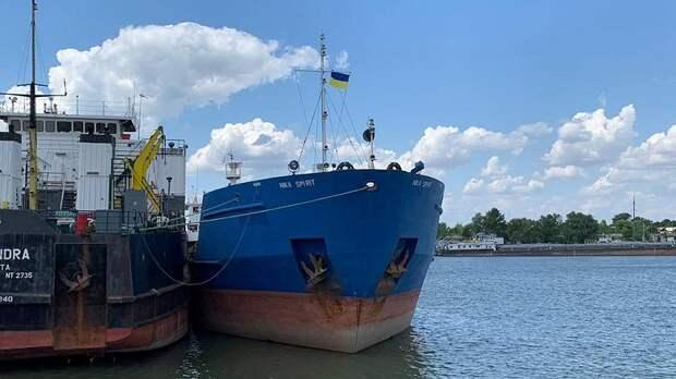 На Украине арестовали российский танкер Nika Spirit