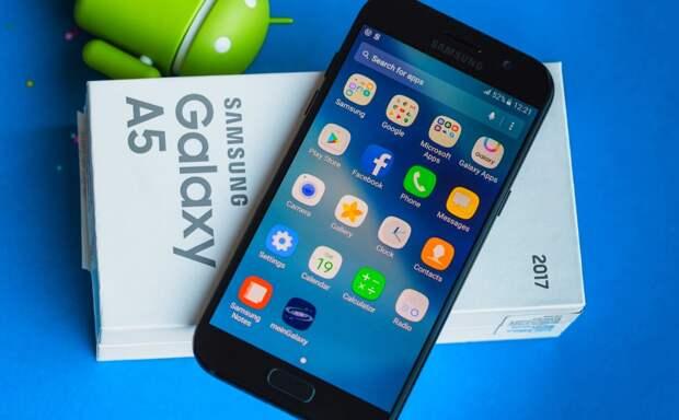 Samsung прекратила поддержку смартфонов серий Galaxy A и J 2017 года выпуска