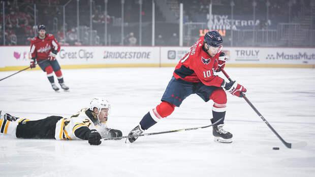 «Бостон» вовертайме победил «Вашингтон» исравнял счет всерии плей-офф НХЛ