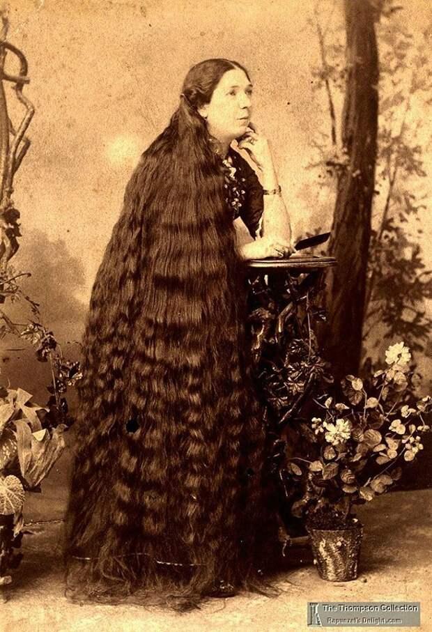 Rapunzels08 История красоты — известные «рапунцели» XIX века