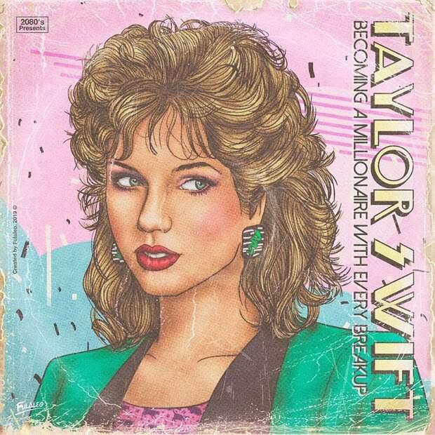 «Да здравствуют мои усы!»: как бы выглядели современные звезды в 80-е