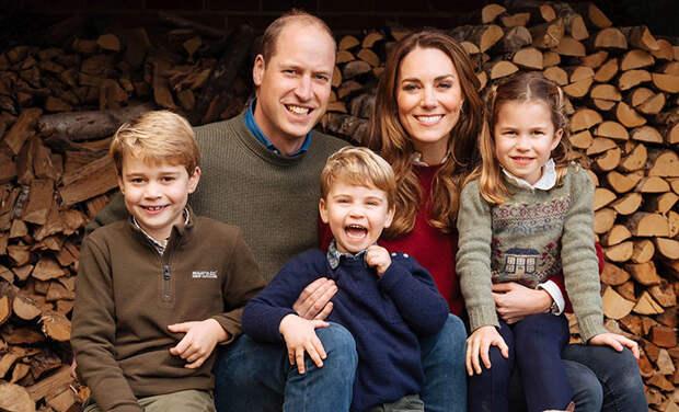Кейт Миддлтон и принц Уильям планируют переехать вместе с детьми