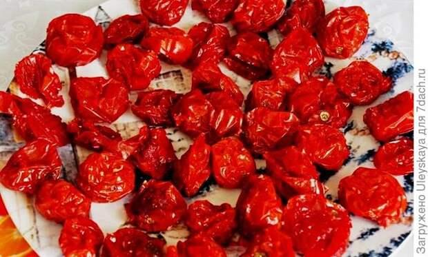 Вяленые томаты-черри. Фото с сайта asienda.ru