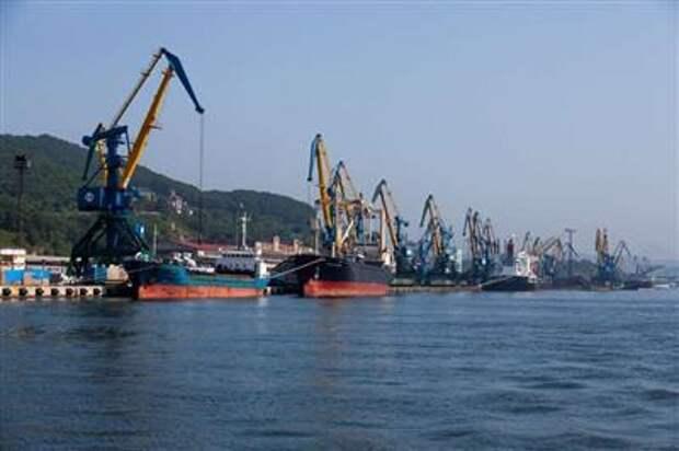 Грузооборот морских портов России за первый квартал 2021 года сократился на 4,5%
