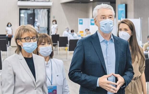 В Москве открылись два крупных прививочных центра