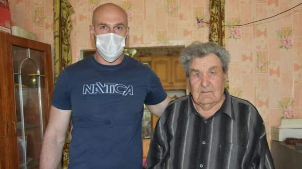 4 мая отпраздновал свой 90-летний юбилей житель города Бахчисарая Баландин Станислав Иванович