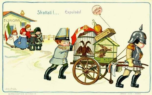 Изгнанники - Aurelio Bertiglia 1914